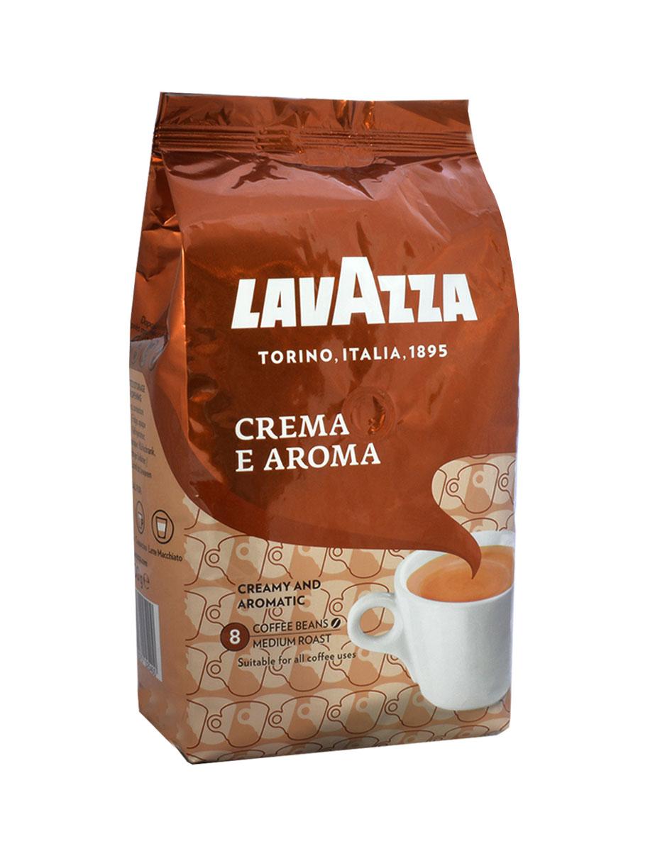 Lavazza Crema e Aroma кофе в зернах, 1 кг lavazza crema e aroma 1000 beans крем арома зерно вакуумная упаковка