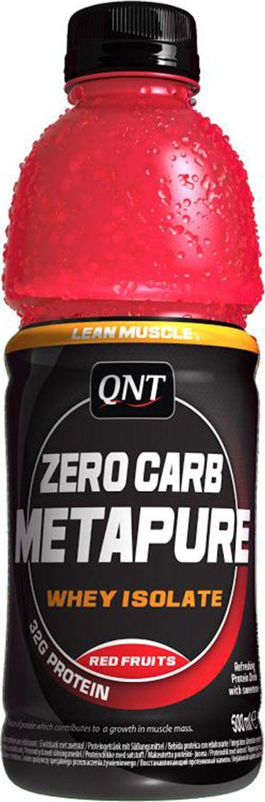 QNT Напиток Изолята Metapure, фруктовый, 500 мл