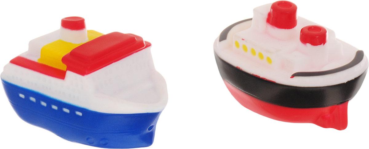 ABtoys Игрушка для ванной Катер-брызгалка 2 шт игрушки для ванны goki игрушка для купания утка 1 шт