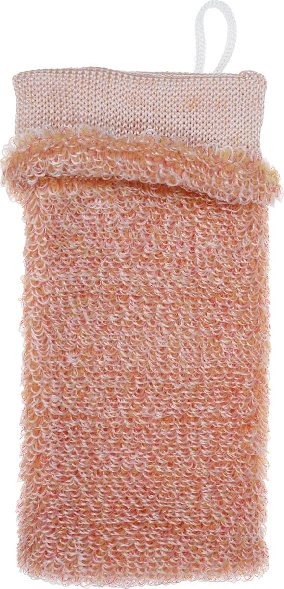 Мочалка-букле Art DLis Рукавица, жесткая, цвет: бежевый, красный, 21 х 10 смЯ29_бежевый, красныйМочалка-букле Art DLis Рукавица станет незаменимым аксессуаром ванной комнаты. Мочалкамассажная антибактериальная. Отлично пенится и быстро сохнет. Эффект скраба - кожа становится чистой, упругой и свежей. Идеальна для профилактики иборьбы с целлюлитом. Мочалка выполнена в форме рукавицы, поэтому очень комфортна виспользовании.Материал: ППР (полипропилен), ПЭФ (перфторполиэфир).