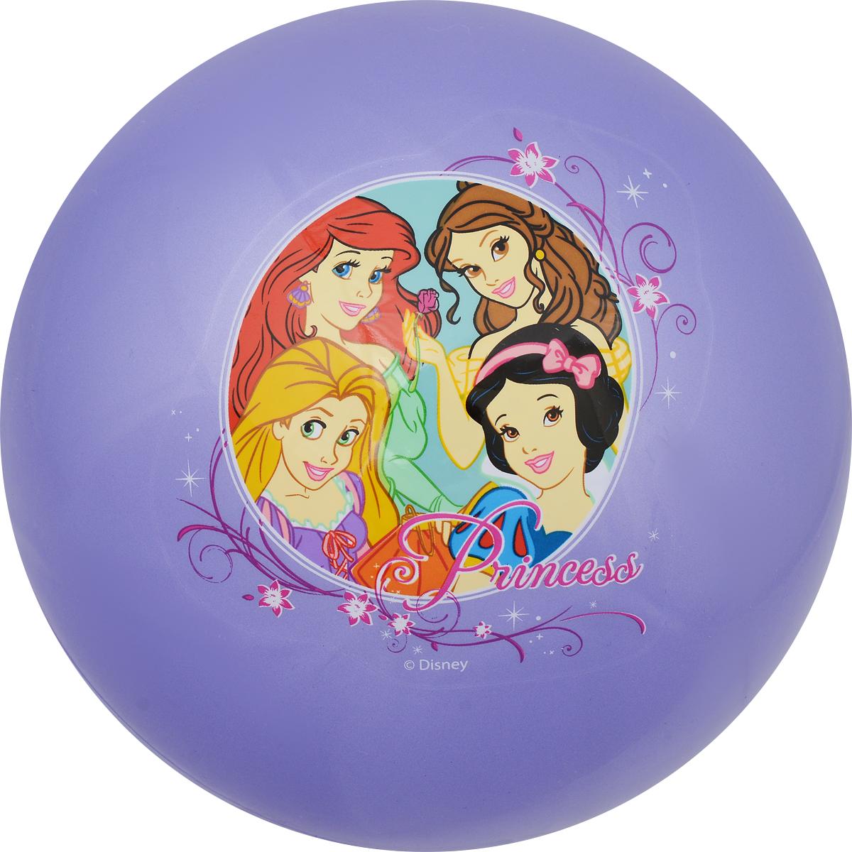 Играем вместе Мяч Принцессы цвет сиреневый 23 см