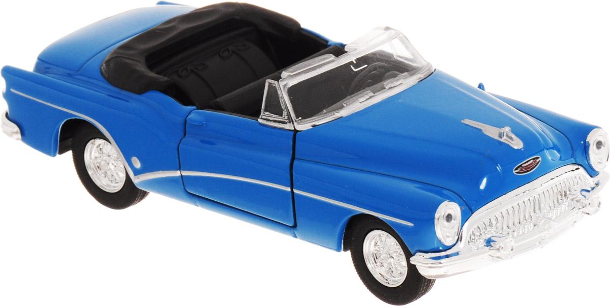 Welly Модель автомобиля Buick Skylark 1953 цвет голубой welly модель автомобиля audi q7 цвет серый