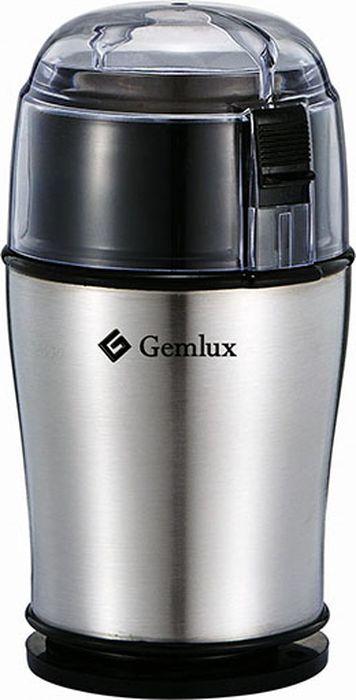 Gemlux GL-CG100 кофемолкаGL-CG100Полуавтоматическая кофемолка Gemlux GL-CG100 обеспечивает идеальный помол кофе для капельных и гейзерных кофеварок, перколяторов и френч-прессов.Максимальная загрузка составляет 100 г, время работы при максимальной загрузке - 20-30 сек. Для получения наилучших результатов рекомендуется единовременно загружать в кофемолку не более 40 г кофе и производить помол в импульсном режиме с 10-секундными интервалами.Корпус кофемолки изготовлен из нержавеющей стали и снабжен отсеком для хранения сетевого шнура.