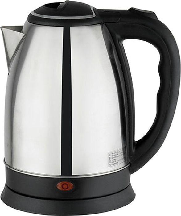 Gemlux GL-K101SS чайник электрическийGL-K101SSЭлектрический чайник Gemlux GL-K101SS объемом 1,8 л идеально подходит для семьи из трех-четырех человек. Устройство изготовлено из прочной, экологичной и безопасной для здоровья нержавеющей стали, основание и термоизолированная ручка - из черного пластика.Мощный закрытый ТЭН обеспечивает быстрое закипание воды, легко очищается от накипи и имеет длительный срок службы.Электрочайник имеет функцию автоотключения при закипании воды и функцию защиты от сухого включения.Вращение на платформе 360°.