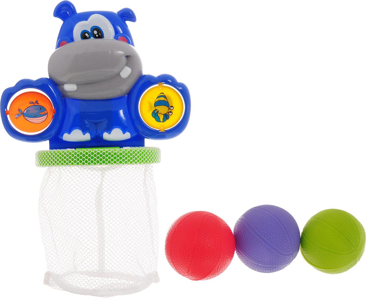 ABtoys Игрушка для ванной Водный баскетбол набор для ванной water fun водный трамплин