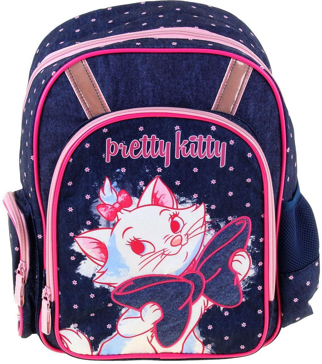 Disney Рюкзак дошкольный Marie Cat1158317Дошкольный рюкзак Disney Marie Cat обязательно пригодится вашему ребенку! Он может взять его с собой на прогулку, в гости или в детский сад.Выполнен рюкзак из прочного материала, что позволяет служить ему долгое время. Изделие содержит одно отделение, закрывающееся на застежку-молнию. На лицевой стороне изделия находится карман на молнии, по бокам - два кармана (открытый и на молнии).Рюкзак оснащен регулируемыми по длине плечевыми лямками и дополнен текстильной ручкой для переноски в руке. Светоотражающие элементы обеспечивают безопасность в темное время суток.Рюкзак порадует глаз и подарит отличное настроение вашему ребенку, который будет с удовольствием носить в нем свои вещи или любимые игрушки.