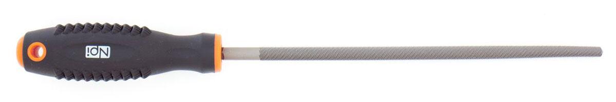 Напильник по металлу NPI HCS, круглый, с двухкомпонентной ручкой, 200 мм55222Круглый напильник по металлу NPI изготовлен из высокоуглеродистой стали которая на долго сохраняет остроту насечки. Напильник имеет тип насечки - личная и усиленное крепление ручки. Эргономичная двухкомпонентная рукоятка из ударопрочного пластика обеспечивает удобный и безопасный захват и предотвращает выскальзывание.Длина рабочей поверхности: 200 мм.