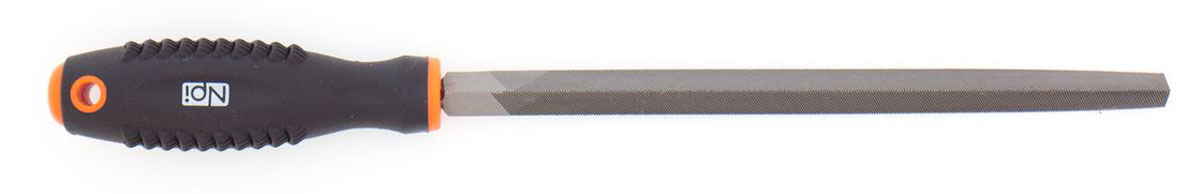 Напильник по металлу NPI HCS, трехгранный, с двухкомпонентной ручкой, 200 мм ключ разводной npi crv 200 мм