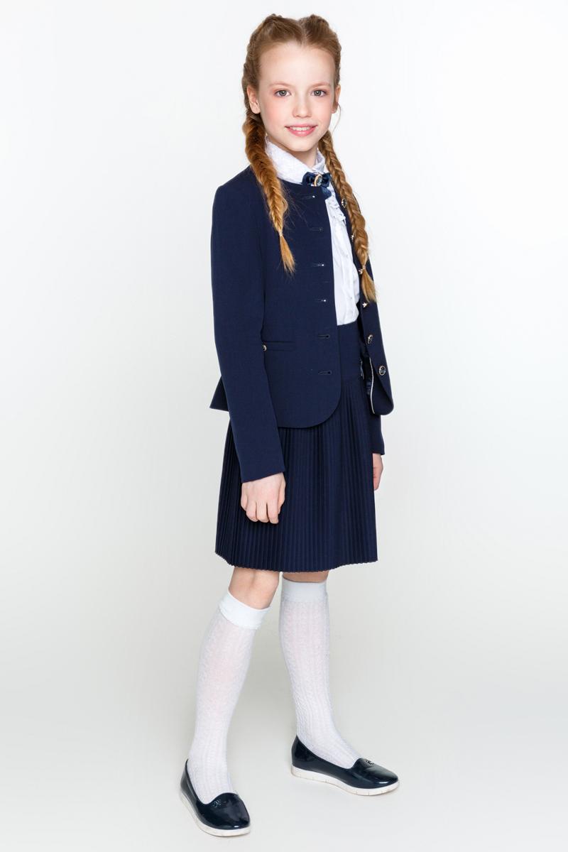 Жакет для девочки Acoola Degree, цвет: синий. 20200130011_500. Размер 122 сотовый телефон elari cardphone black
