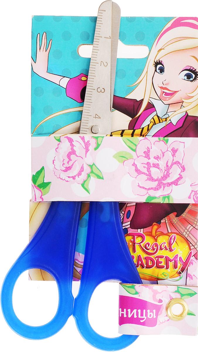 Centrum Ножницы Королевская академия цвет синий 13 см87874_синийДетские ножницы Centrum Королевская академия прекрасно подойдут для детского творчества.Лезвия выполнены из коррозионностойкой стали с закругленными концами, что делает процесс работы с ними безопасным для ребенка. На лезвиях имеется шкала до 5 см. Благодаря эргономичной форме пластиковых ручек, модель отлично ложится как в детскую, так и во взрослую руку.Ножницы хорошо справляются с резкой бумаги, картона и станут незаменимым помощником в процессе создания аппликаций и других поделок.Предназначены для детей от трех лет.