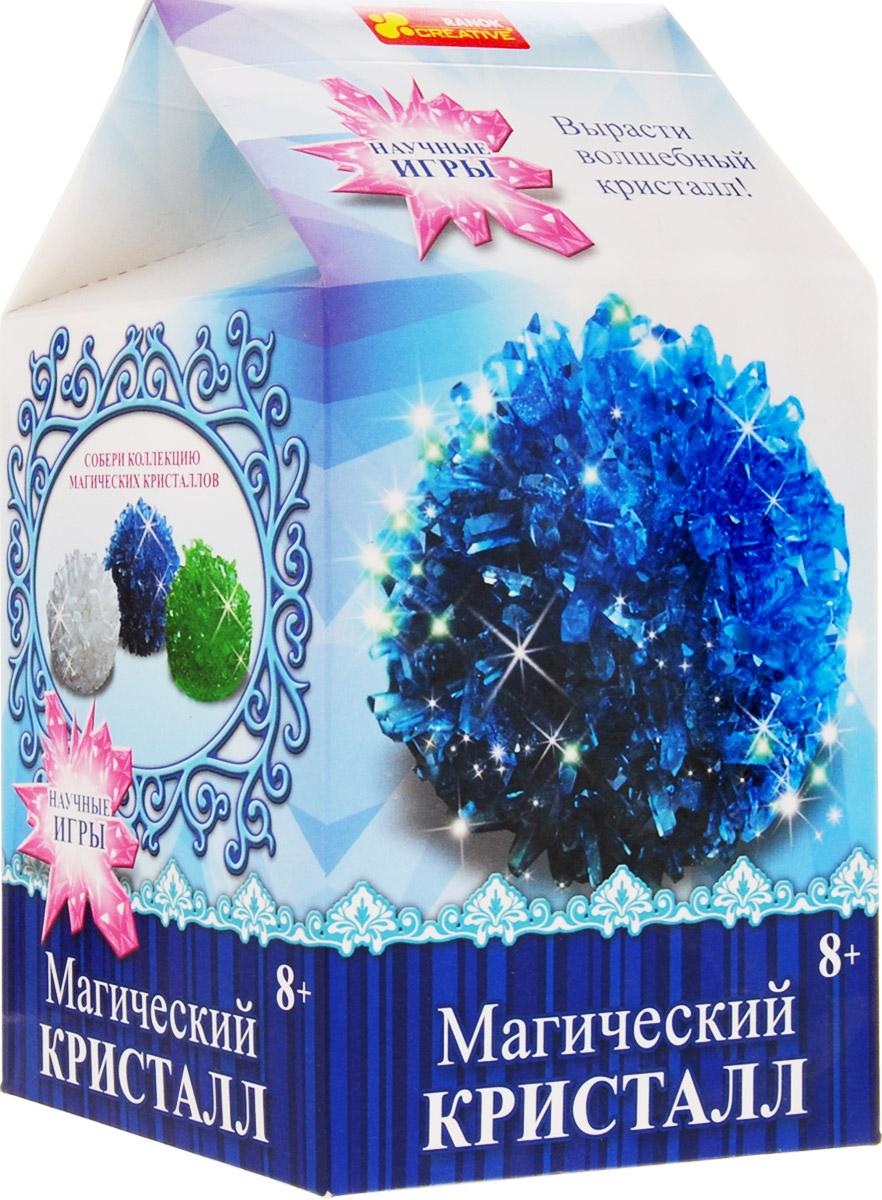 Ranok Набор для опытов и экспериментов Магический кристалл цвет синий
