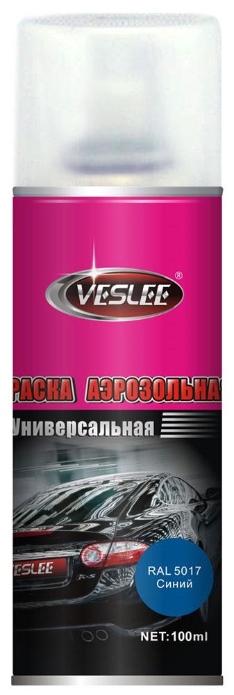 Краска акриловая Veslee, аэрозоль, цвет: синий, 100 млVL-P2E 5017Краска Veslee предназначена для высококачественного окрашивания поверхностей, сделанных из дерева, металла и пластика. Идеальна для окрашивания автомобилей, мотоциклов, различного оборудования, приборов, мебели и прочего. Имеет широчайшую палитру цветов и форм. Такая краска не желтеет и не выцветает, то есть является атмосферостойкой. Акриловые краски могут быть использованы как для полного окрашивания, так и для подкрашивания. Прекрасно подходят не только для транспортных средств, но и для любого другого оборудования. Они могутуспешно использованыдля декорирования различных деталей интерьера и разных поверхностей не только в быту, но и в офисе или магазине.