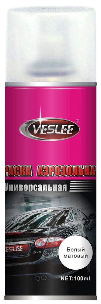 Краска акриловая Veslee, аэрозоль, цвет: белый матовый, 100 млVL-P2E WMАэрозольная краска Veslee предназначается для высококачественного окрашивания поверхностей, сделанных из дерева, металла и пластика. Идеальна для окрашивания автомобилей, мотоциклов, различного оборудования, приборов, мебели и прочего. Имеет широчайшую палитру цветов и форм. Такая краска не желтеет и не выцветает, то есть является атмосферостойкой. Акриловые краски могут быть использованы как для полного окрашивания, так и для подкрашивания. Прекрасно подходят не только для транспортных средств, но и для любого другого оборудования, такого как кухонное, например. Они могут успешно использованы для декорирования различных деталей интерьера и разных поверхностей не только в быту, но и в офисе или магазине. Аэрозольная краска на акрилово-эпоксидной основе является наиболее экономичным вариантом. Являются универсальными - они годятся как для наружных, так и для внутренних работ, устойчивы к неблагоприятным атмосферным явлениям. Такие краски благодаря своим уникальным свойствам надежно защищают поверхности от окисления и ржавчины и вполне пригодны как для полного окрашивания поверхностей, так и для частичного. Весьма положительным качеством, которым обладают акриловые краски, является то, что они не содержат свинца и ртути. Товар сертифицирован.