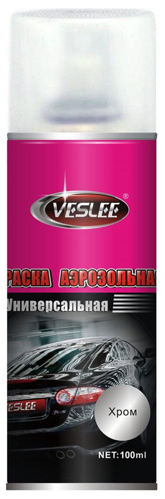 Краска акриловая Veslee, аэрозоль, цвет: хром, 100 млVL-P2E CКраска Veslee предназначена для высококачественного окрашивания поверхностей, сделанных из дерева, металла и пластика. Идеальна для окрашивания автомобилей, мотоциклов, различного оборудования, приборов, мебели и прочего. Имеет широчайшую палитру цветов и форм. Такая краска не желтеет и не выцветает, то есть является атмосферостойкой. Акриловые краски могут быть использованы как для полного окрашивания, так и для подкрашивания. Прекрасно подходят не только для транспортных средств, но и для любого другого оборудования. Они могутуспешно использованыдля декорирования различных деталей интерьера и разных поверхностей не только в быту, но и в офисе или магазине.