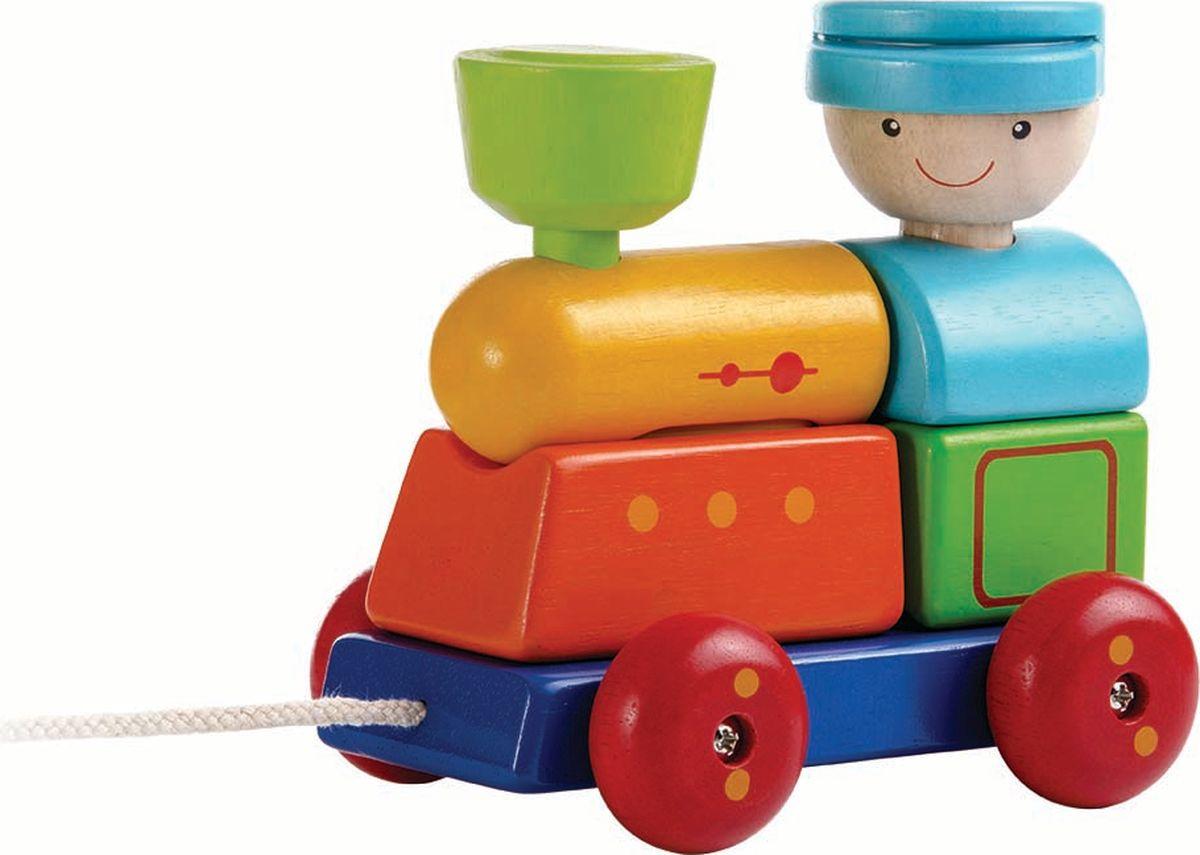 Plan Toys Сортер Поезд plan toys сортер блок для сортировки фигур