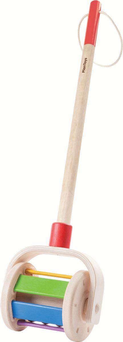 Plan Toys Каталка с ручкой karolina toys игрушка каталка колесо
