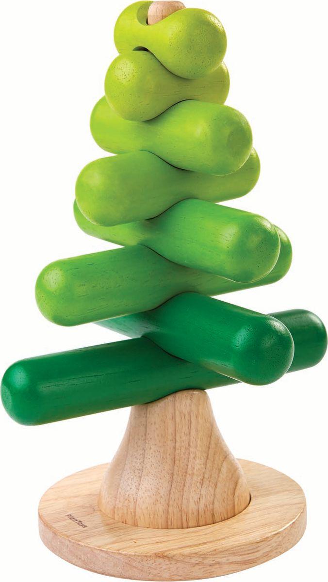 Plan Toys Пирамидка Дерево конструкторы plan toys игра кактус