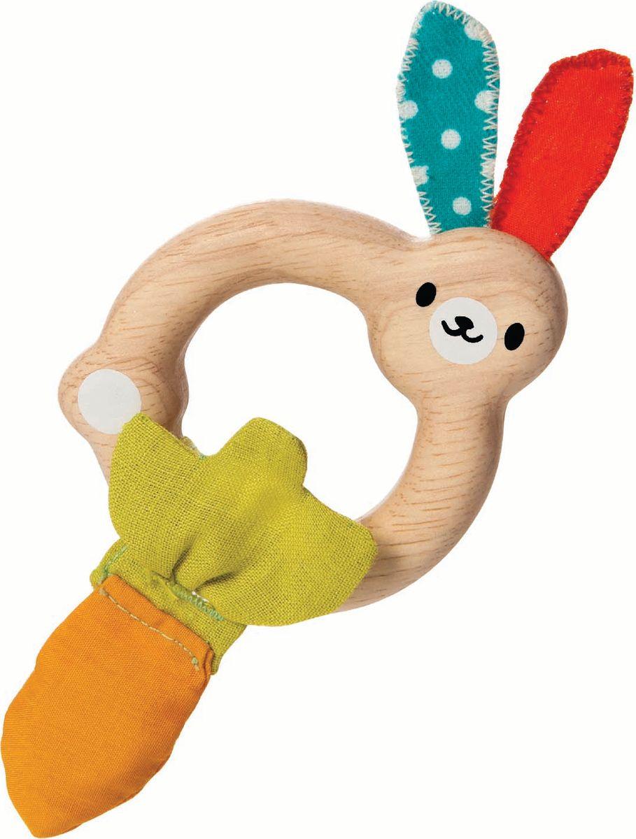 Plan Toys Погремушка Зайчик конструкторы plan toys игра кактус