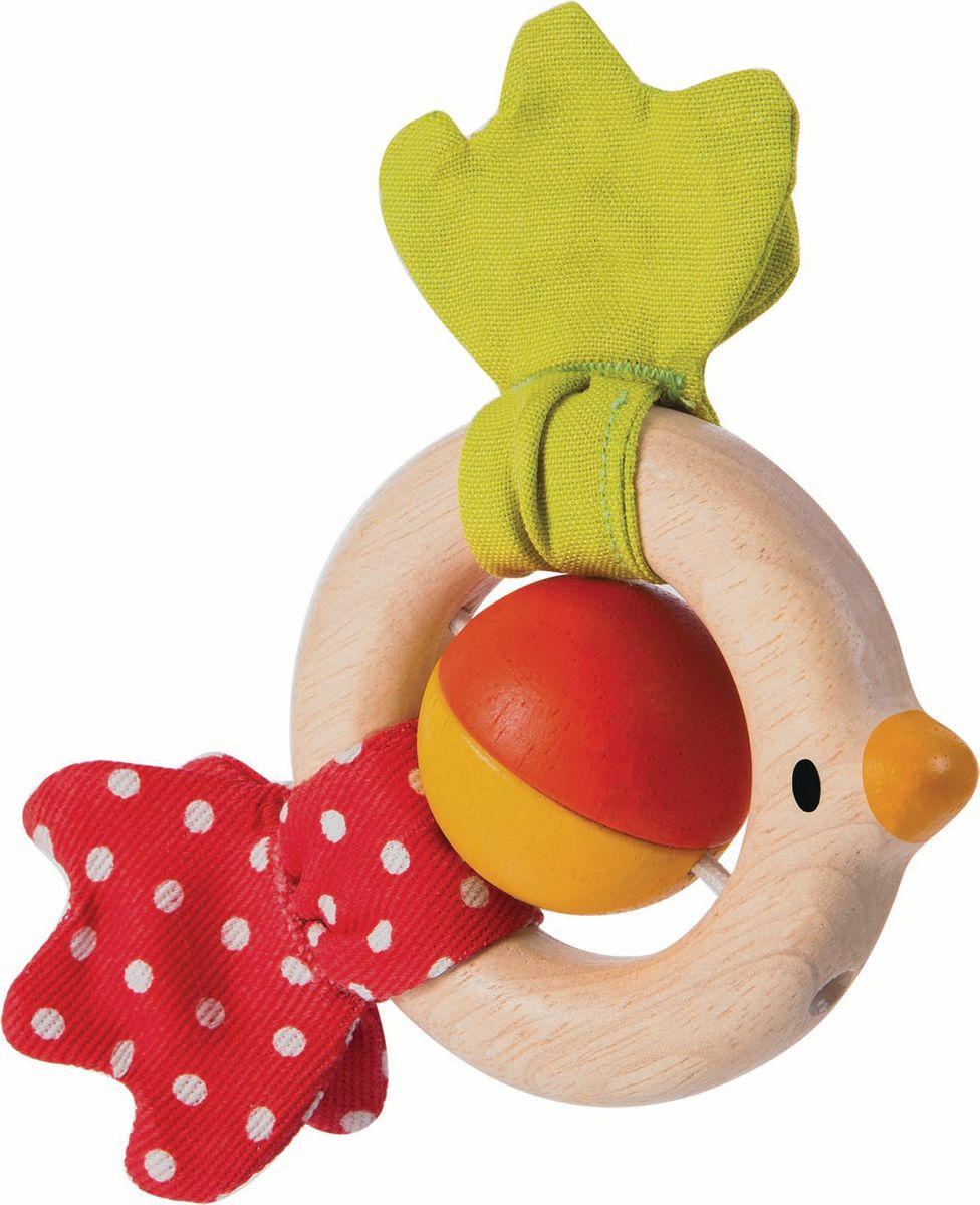 Plan Toys Погремушка Птичка погремушки plan toys погремушка зайчик