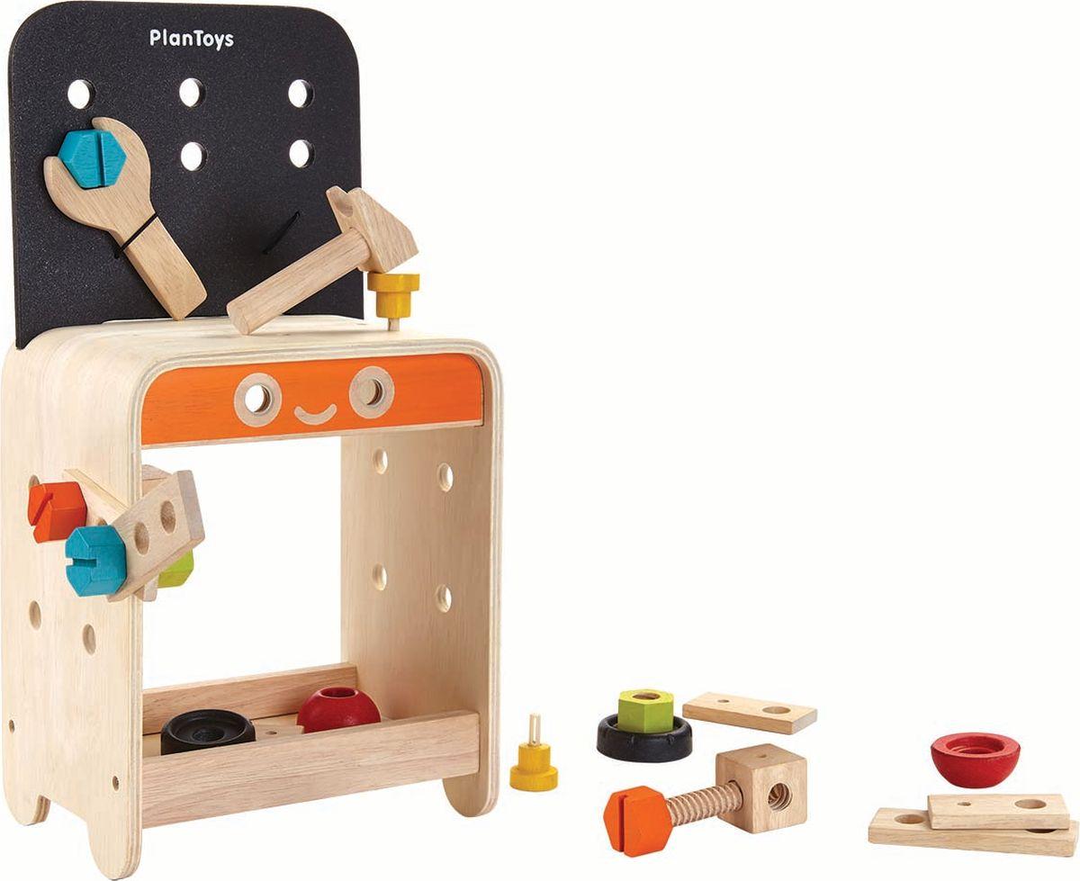 Plan Toys Игрушечный набор Верстак - Сюжетно-ролевые игрушки