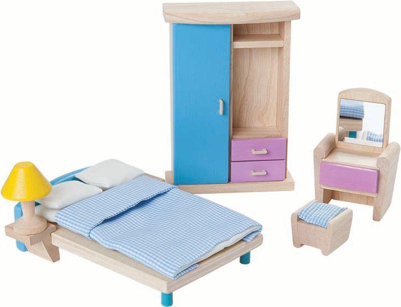 Plan Toys Мебель для кукол Набор для спальни россия мебель для спальни