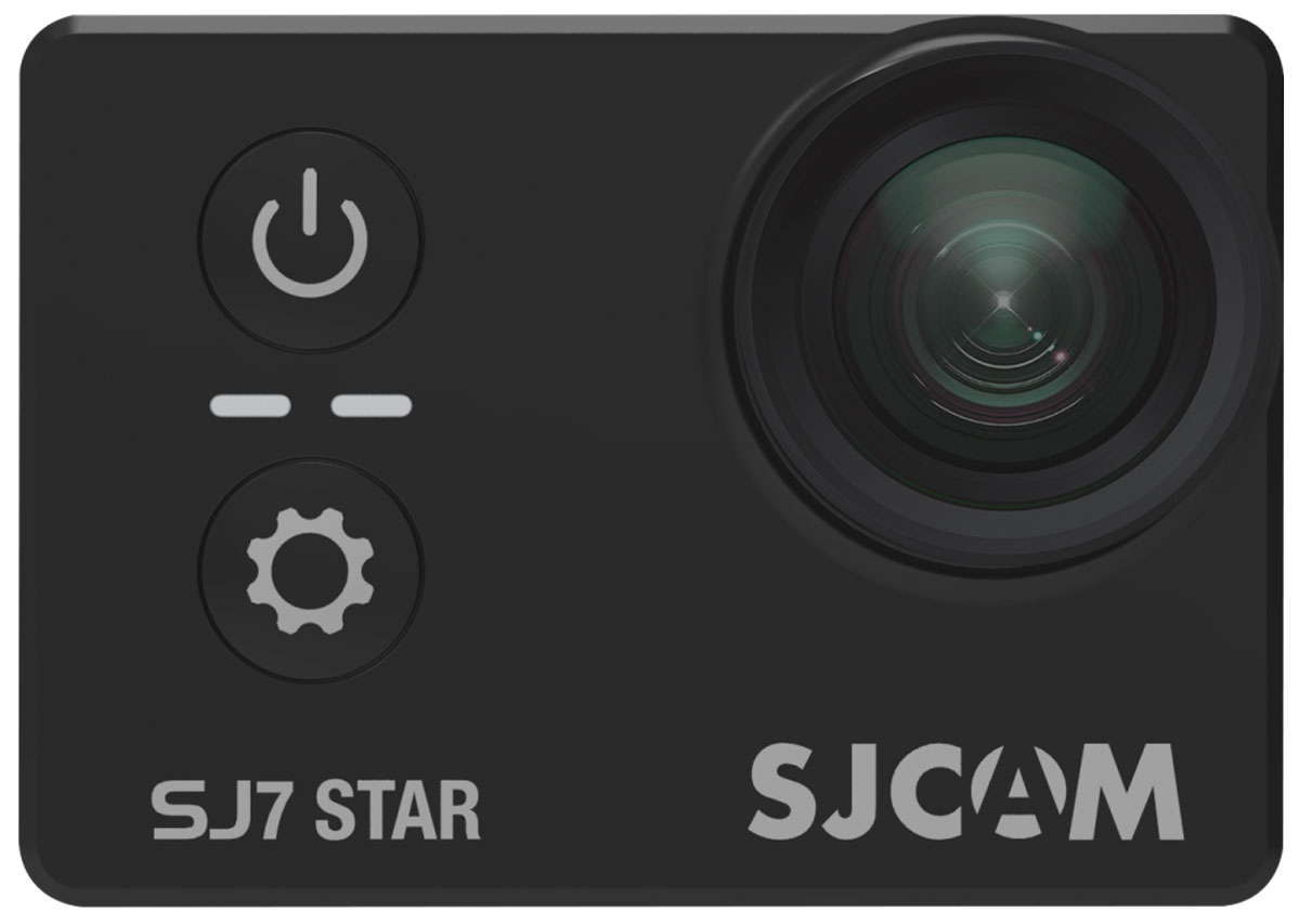 SJCAM SJ7 Star, Black экшн-камера экшн камера sjcam m10 wi fi cube mini black