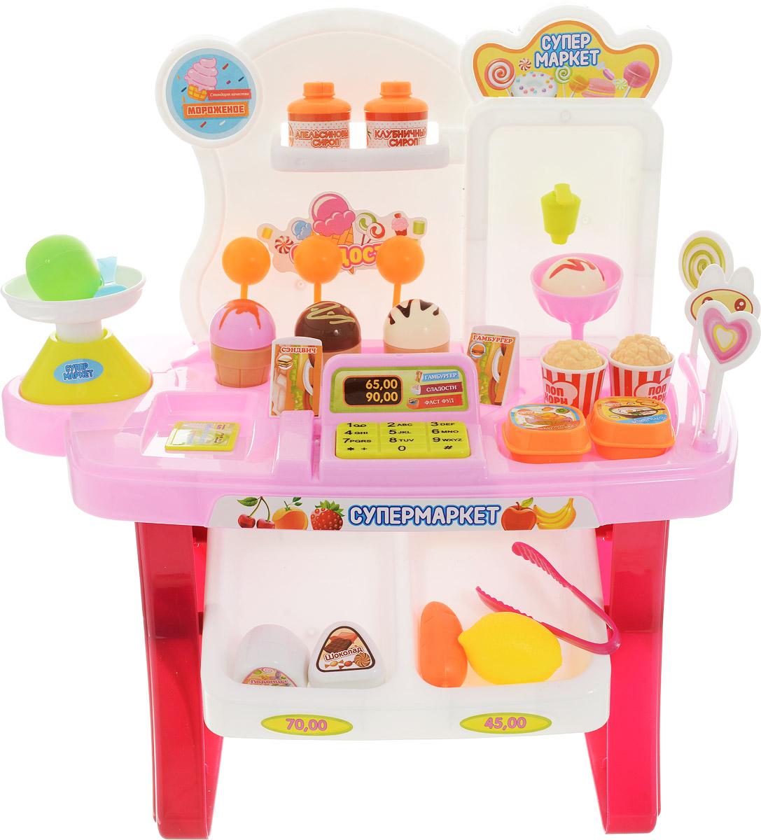Abtoys Игровой набор Супермаркет 35 предметов