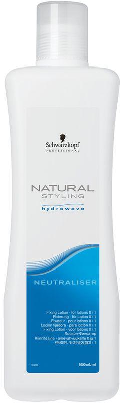 Natural Styling Нейтрализатор, 1000 мл1969345Нейтрализатор для стойкого результата и ухода за волосами. Превосходно нейтрализует и выравнивает волосы, гарантирует стойкий результат локонов или волн.