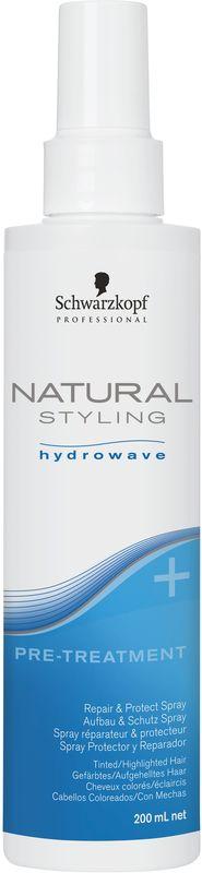 Natural Styling Спрей-уход восстановление и защита перед химической завивкой, 200 млA7893726Лучший способ подготовить и защитить волосы перед химической процедурой - это использовать спрей восстанавливающий и защищающий структуру волос. Он содержит гидролизованный кератин и коллаген, обеспечивает глубокое, интенсивное питание и восстановление поврежденных и осветленных участков волос. А также разглаживает пористые участки полотна волос до и после химической процедуры.