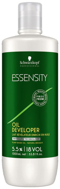 Essensity Активирующий лосьон на масляной основе 5,5%, 1000 млEL8-7Эссенсити Активирующий лосьон на масляной основе. Использовать с красителем Essensity. Для осветления на 1-2 уровня, окрашивания тон в тон. Перед применением внимательно ознакомьтесь с инструкцией на упаковке продукта.