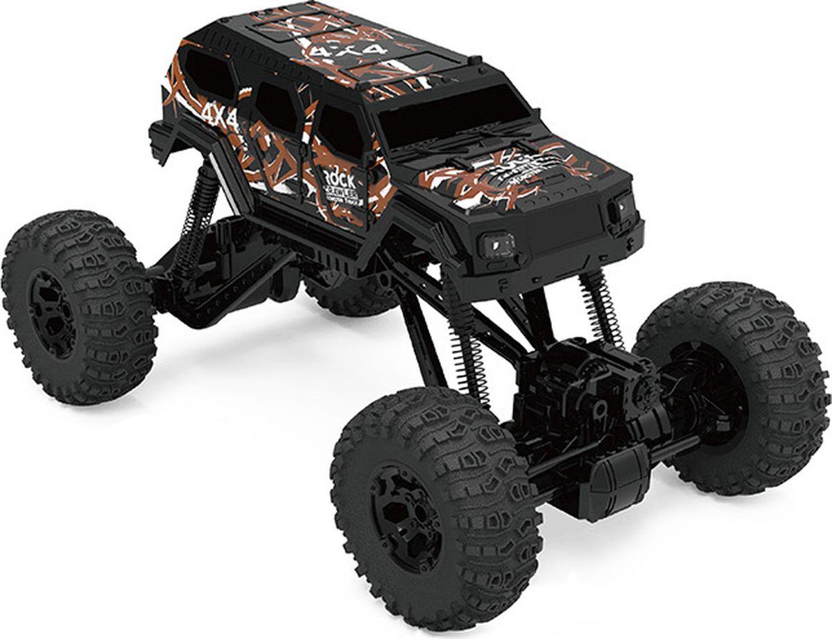 JP Машинка на радиоуправлении Краулер 4WD цвет черный hot new nc4d jp dc5v nc4d jp dc5v nc4d jp dc5v nc4d dc5v 5vdc 5v dip14