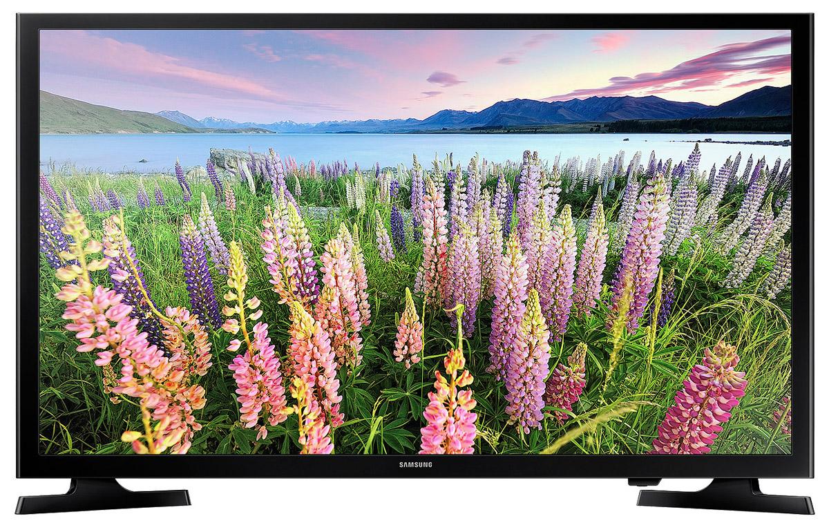 Samsung UE49J5300AUX телевизорUE-49J5300AUXОщутите новую реальность в формате Full HD с телевизором Samsung UE49J5300AUX. Новый уровень реализма в системе домашних развлечений . Благодаря двукратному увеличению разрешения по сравнению с разрешением обычных HD телевизоров, ваш Full HD телевизор позволит испытать новые ощущения погружения в мир виртуальной реальности и ощутить себя участником событий, происходящих на экране. Уже с первых минут просмотра изображения в формате Full HD вы больше не захотите смотреть ваши любимые ТВ программы и фильмы в обычном стандартном разрешении. Откройте для себя всю прелесть виртуальной реальности в формате Full HD.Использование новейшей технологии расширения диапазона цветопередачи Wide Color Enhancer Plus позволяет существенно улучшить качество изображения, включая передачу деталей. Обратите внимание на богатство цветовой палитры, отображаемой на экране благодаря этой технологии.Благодаря функции ConnectShare Movie, вы можете просто вставить USB накопитель или жесткий диск в USB разъем телевизора, чтобы записанные на носителе фильмы, фотоснимки или музыкальные треки начали воспроизводиться на экране телевизора. Теперь на экране телевизора вы можете просмотреть или прослушать любой контент с USB накопителя.Разъемы HDMI превращают телевизор в главный элемент вашего домашнего центра развлечений. Преимущество HDMI состоит в том, что по одному кабелю в телевизор можно одновременно передавать сигнал видео и звука высочайшего качества с любого устройства, поддерживающего этот интерфейс.