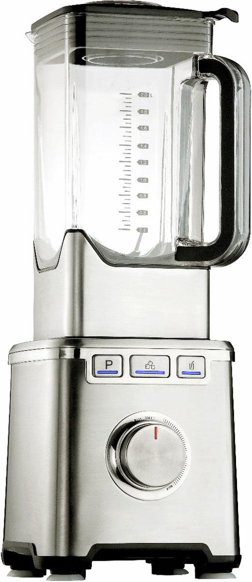 Gemlux GL-PB-379 блендерGL-PB-379Блендер Gemlux GL-PB-379 оснащен сверхмощным высокоскоростным двигателем и прочным нержавеющим ножом. Это позволяет быстро и качественно перерабатывать густые смеси и твердые пищевые продукты. Вместительный стакан блендера, в котором можно готовить сразу несколько порций любого блюда, изготовлен из тритана - это высокоэкологичный, абсолютно безопасный для здоровья материал, который устойчив к механическим повреждениям, не впитывает запахи, не окрашивается и не теряет прозрачности даже при длительной эксплуатации. Плавная регулировка скорости и 3 предустановленных режима работы (колка льда, приготовление смузи, автоматическая очистка) обеспечивают выполнение самых разнообразных кухонных операций: приготовление коктейлей со льдом, густых напитков-смузи, супов-пюре, соусов, муссов и других полезных блюд по оригинальным рецептам, а также быструю очистку устройства по окончании работы. Блендер Gemlux GL-PB-379 имеет лаконичный дизайн, смотрится стильно и профессионально и идеально вписывается в интерьер современной кухни. Прочный нержавеющий корпус, массивный моторный блок и прорезиненные ножки обеспечивают устойчивость устройства даже при максимальной нагрузке. В комплект поставки входит пластмассовый толкатель, при помощи которого можно быстро приготовить густое пюре, ореховую пасту и даже мороженое.