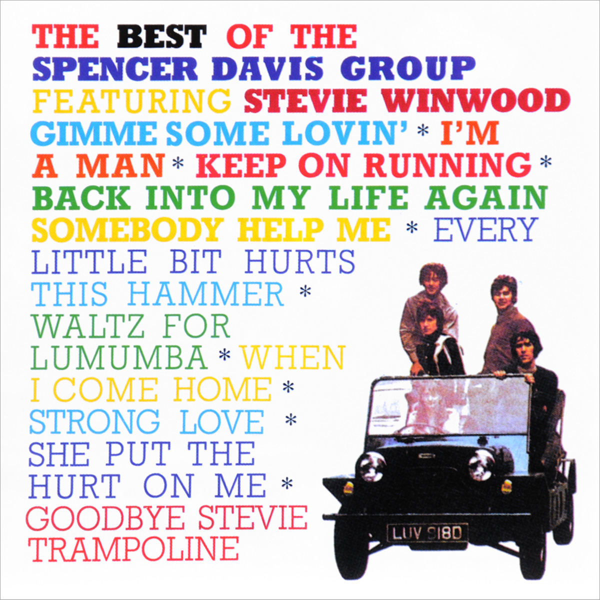 Spencer Davis Group, Stevie Winwood. The Best Of Spencer Davis Group