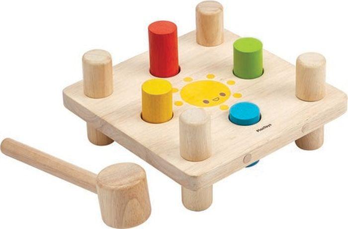 Plan Toys Развивающая игрушка Забивалка 5126