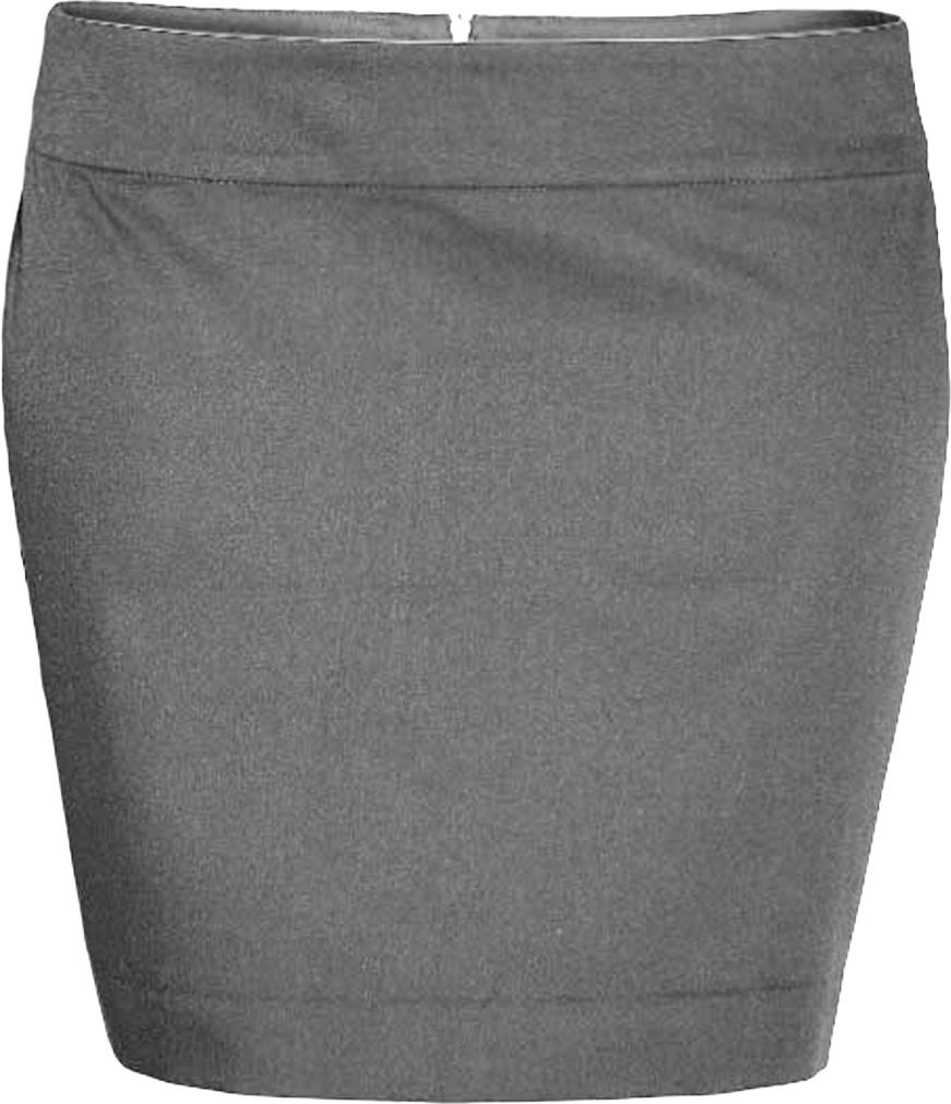 Юбка oodji Ultra, цвет: серый. 11601117/18879/2300N. Размер 34-170 (40-170)11601117/18879/2300NЮбка oodji выполнена из качественной смесовой ткани. Модель-мини застегивается сзади на молнию.