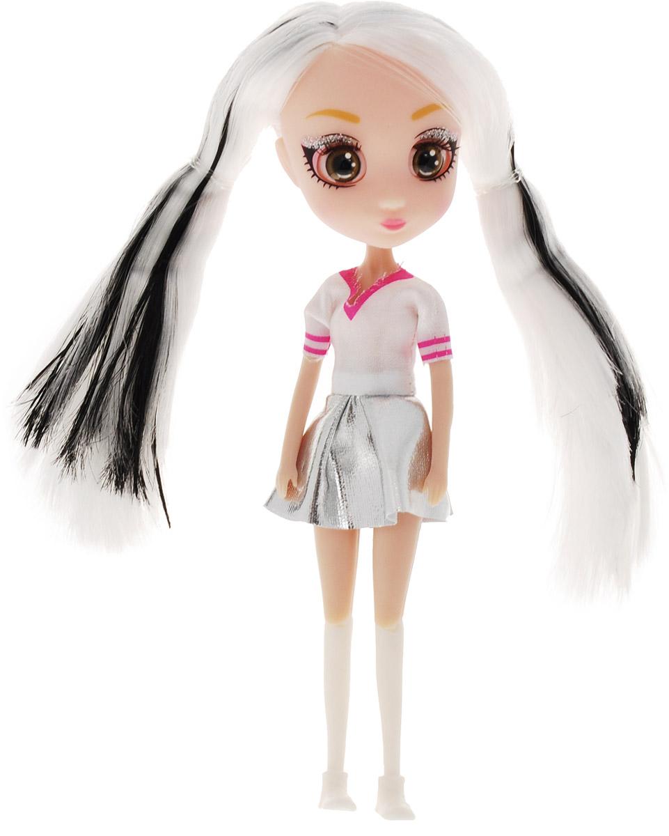 Shibajuku Girls Мини-кукла Мики белые женские ботиночки