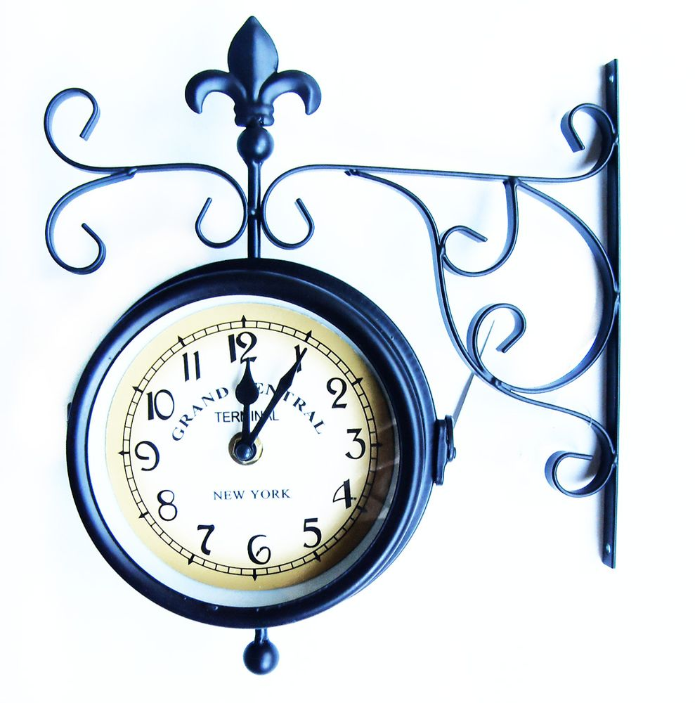 Часы для сада, кварцевые, цвет: синий, 25 х 9 х 28 см466419Кварцевые часы работают точно, срок службы большой. Часы станут изюминкой в дизайне интерьера вашего сада. Они имеют две стрелки - часовую, минутную. Предусмотрено специальное крепление, для крепления на стену. Размер: 25 х 9 х 28 см.
