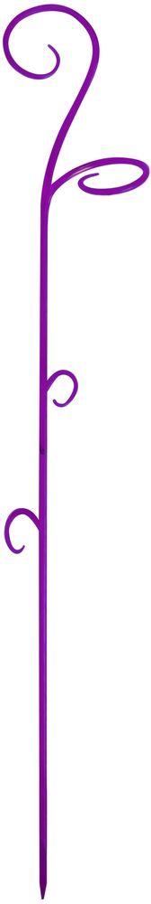 Опора для растений Техоснастка, цвет: фиолетовый опора для растений бамбуковая