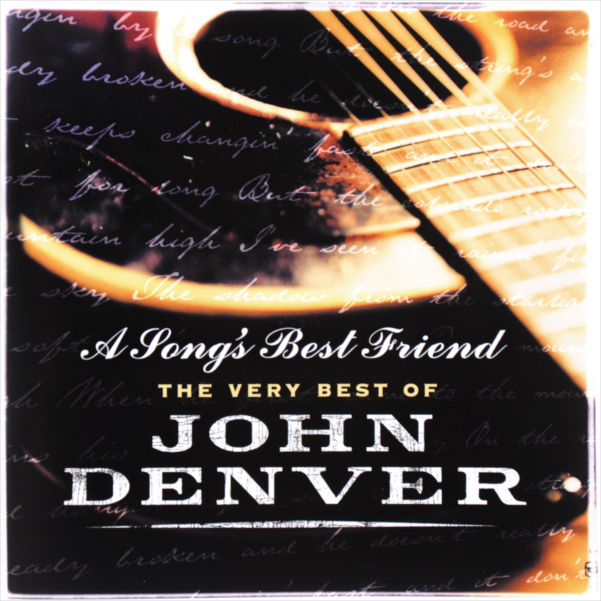 Джон Дэнвер John Denver. A Song's Best Friend. The Very Best Of (2 CD) cd диск jeff healey the very best of 1 cd