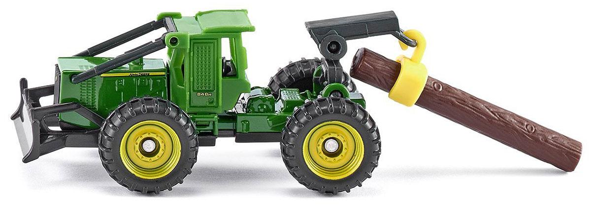 Siku Трелевочный трактор John Deere 848H tomy трактор john deere 6830