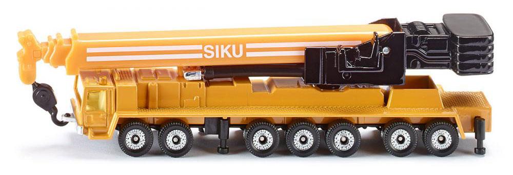 Siku Автокран Mega Lifter цвет желтый siku гидравлический кран