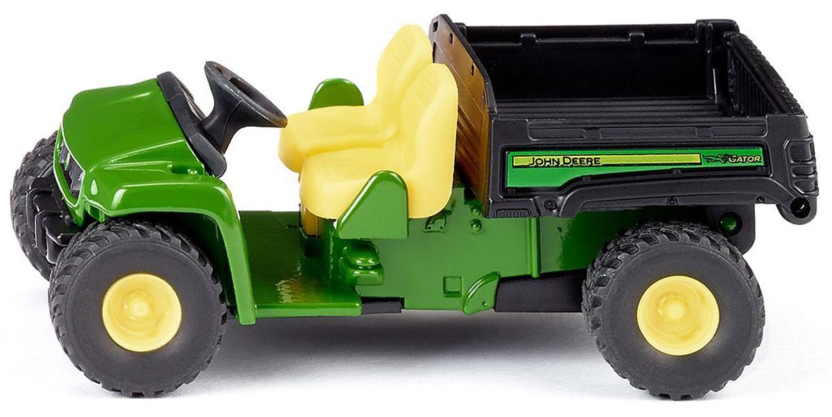 Siku Автомобиль John Deere Gator трактор tomy john deere зеленый 19 см с большими колесами звук свет