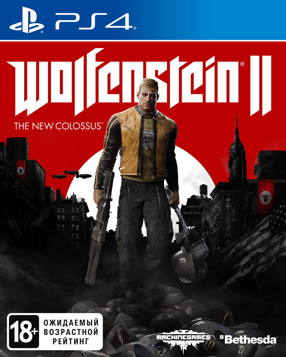 Zakazat.ru Wolfenstein II: The New Colossus (PS4)