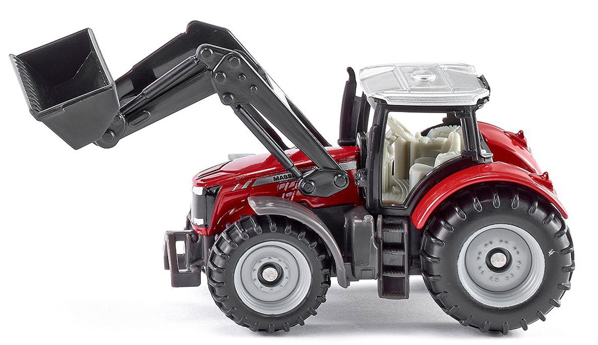 Siku Трактор Massey-Ferguson с фронтальным погрузчиком free ship gt2556s 711736 5026s 711736 2674a226 turbo for perkin s massey ferguson 5455 tractor loader backhoe 420d it vista 4 4l