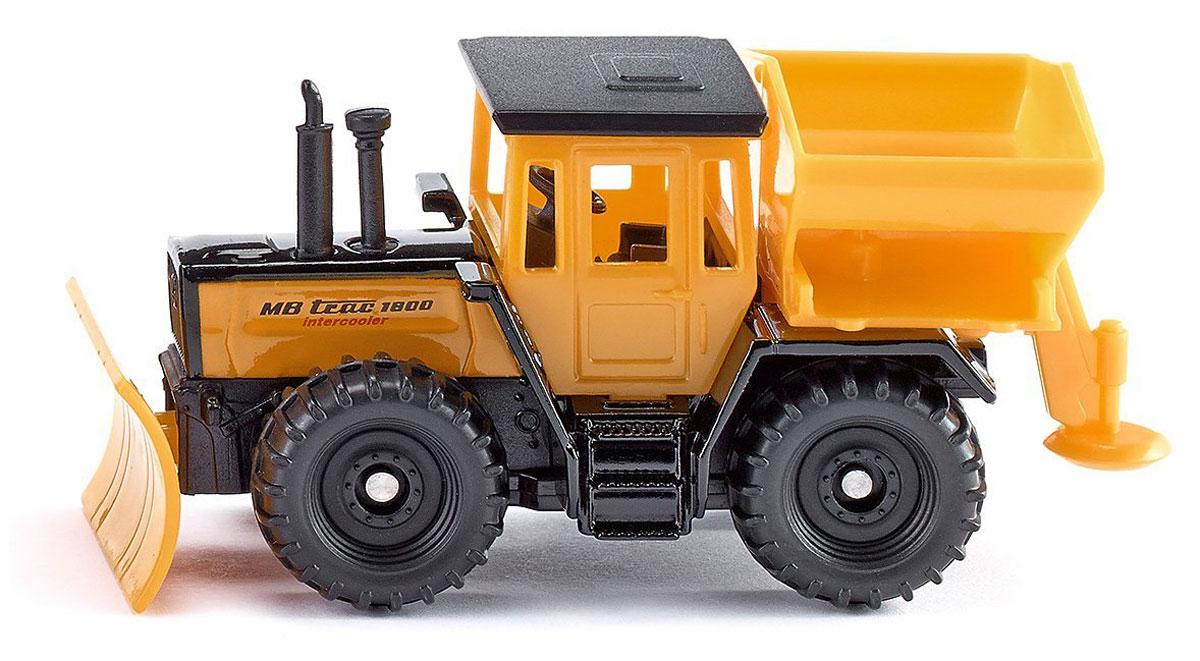 Siku Трактор MB Trac 1800 Intercooler siku модель машины с прицепом и спортивной машиной 2544
