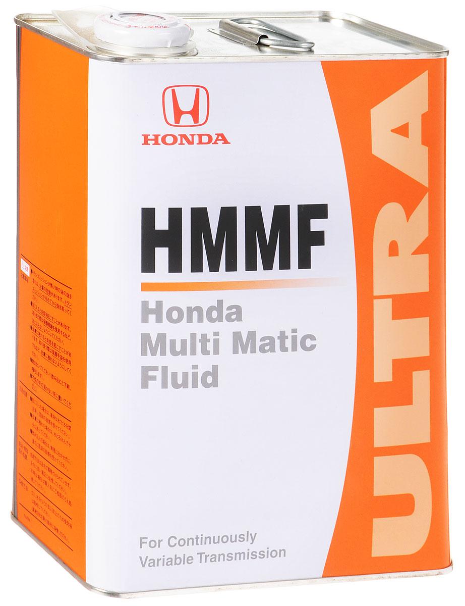 Масло трансмиссионное Honda HMMF, для вариаторов, 4 л08260-99904Трансмиссионное масло Honda HMMF обеспечивает работу системы CVT (НММ - одна из ее разновидностей), основанной на методе стартового сцепления в автомобилях Honda. Поскольку оно является специальной жидкостью, предназначенной для трансмиссионной системы НMМ, отвечает особенностям этой трансмиссионной системы, а также является усовершенствованным в плане долговечности.Данная трансмиссионная жидкость не может быть использована в автомобилях с АКП, а также с системами CVT оборудованными гидротрансформатором.Товар сертифицирован.