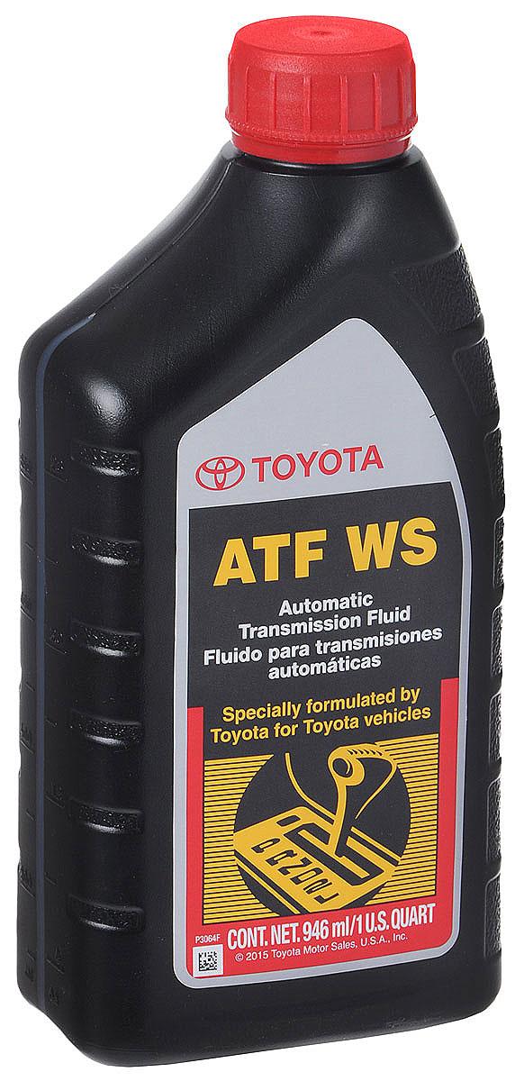 Трансмиссионное масло Toyota ATF WS , 1 л00289-ATFWSToyota ATF WS - это высококачественное оригинальное трансмиссионное масло для АКПП автомобилей Toyota. Масло Toyota ATF WS применимо в последних АКПП и секвентальных ручных КПП автомобилей Toyota. Масло для АКПП Toyota ATF WS рекомендовано к применению в автомобилях, работающих в тяжелых погодных условиях, таких как низкие и высокие температуры окружающей среды, а также при увеличенных интервалах замены. Toyota ATF WS обеспечивает плавное переключение передач даже при нежелательных режимах работы АКПП. Toyota ATF WS содержит новейший пакет противоизносных присадок, которые позволяют работать АКПП Toyota значительно дольше, чем при использовании масел типа Dexron.