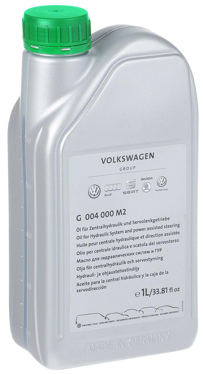 Масло гидравлическое VAG ГУР, синтетическое, 1 лG004000M2Гидравлическое масло VAG ГУР - высококачественная жидкость для использования в рулевом управлении. Обеспечивает оптимальные рабочие характеристики рулевого управления, защиту и смазку рулевого механизма, насоса, распределителя и других деталей.Товар сертифицирован.