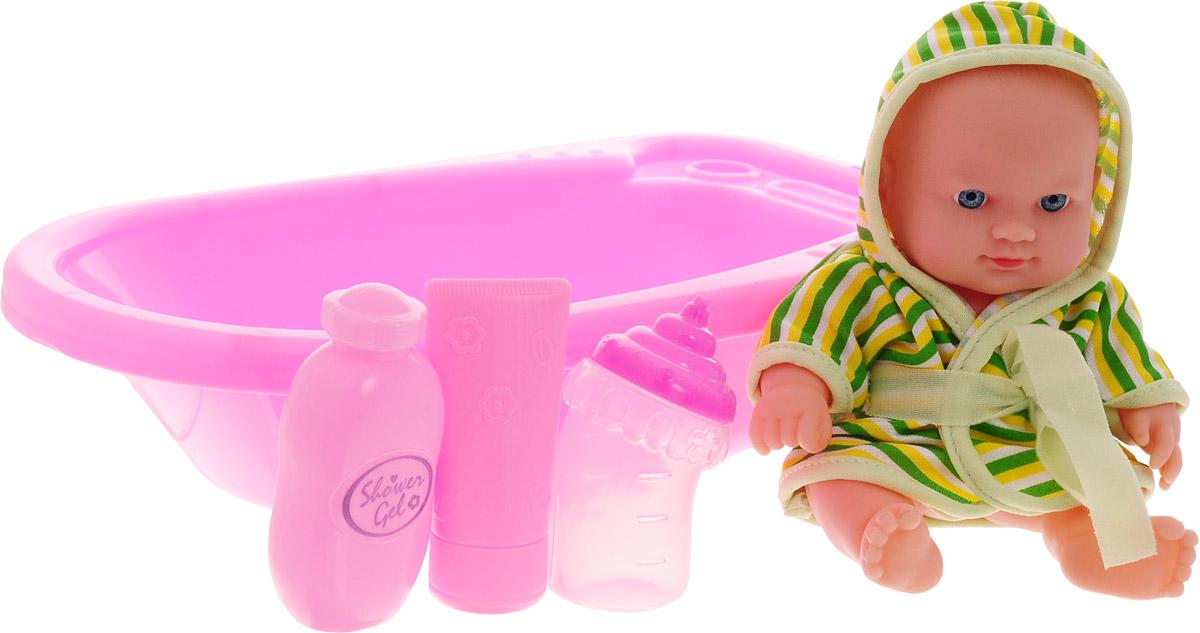 Город игр Пупс Baby MayMay с ванной цвет одежды зеленый кукла город игр baby maymay gi 6423